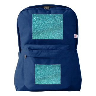 Colorful Glitter Shiny Diamonds Backpack