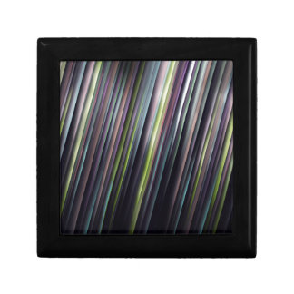 Colorful Glowing Stripes Gift Box