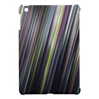 Colorful Glowing Stripes iPad Mini Cover