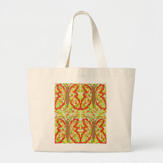 Colorful, Golden  Butterfly Abstract Tote Bag