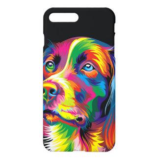 Colorful golden retriever iPhone 8 plus/7 plus case