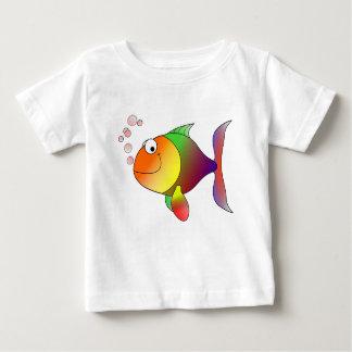 Colorful Goldfish Cartoon Tee Shirts