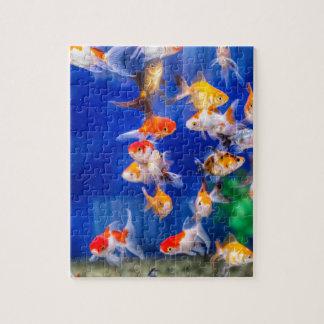 Colorful Goldfish Jigsaw Puzzle