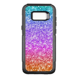 Colorful Gradient Modern Glitter Texture Pattern OtterBox Commuter Samsung Galaxy S8+ Case