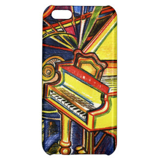 Colorful Grand Piano iPhone 5C Covers