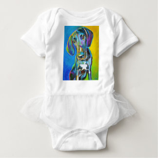 Colorful GREAT DANE Baby Bodysuit