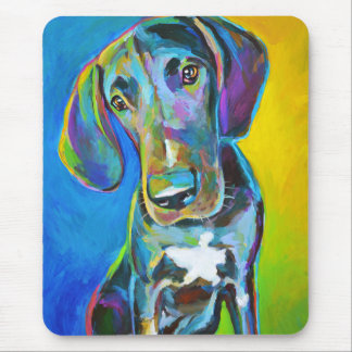 Colorful GREAT DANE Mouse Pad