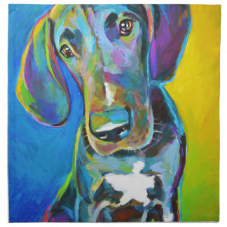 Colorful GREAT DANE Napkin