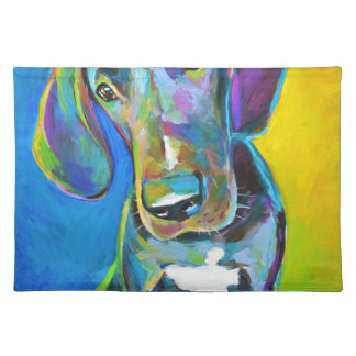 Colorful GREAT DANE Placemat