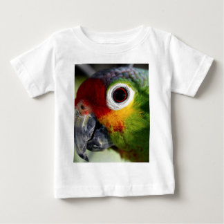 Colorful Green Red Yellow Parrot Gifts Baby T-Shirt