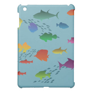 Colorful Group of Fish Underwater Cover For The iPad Mini