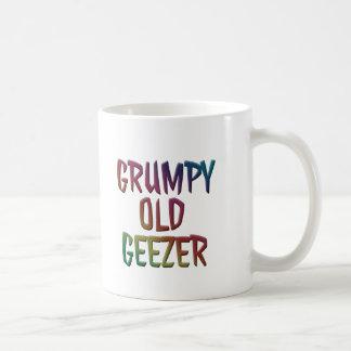Colorful Grumpy Old Geezer Mug Cup
