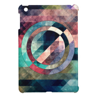 Colorful Grunge Geometric Abstract Cover For The iPad Mini