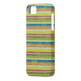 Colorful Grunge Stripes iPhone 5 Case