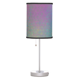 Colorful, Grungy Texture Abstract Remix Table Lamp