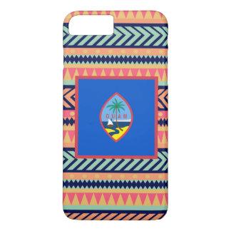 Colorful Guam Flag Box iPhone 7 Plus Case