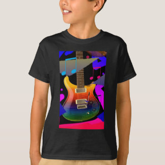 Colorful Guitar - Rock On! T-Shirt