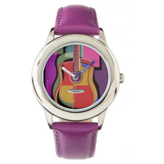 Colorful Guitar Watch
