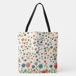 Colorful Gumdrop Garden Tote