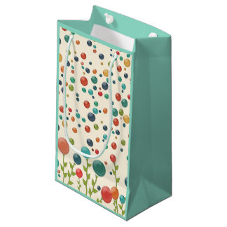 Colorful Gumdrop Pattern Gift Bag