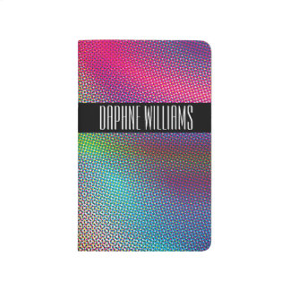 Colorful Halftone Journal