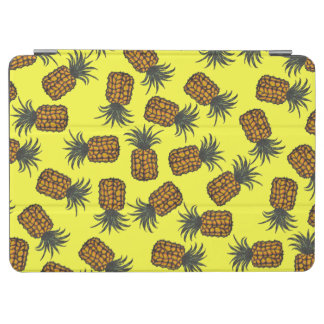 colorful hand painted tropical pineapple pattern iPad air cover