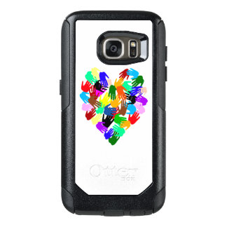 Colorful Handprints of World Brotherhood OtterBox Samsung Galaxy S7 Case