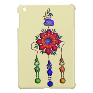 colorful hanging flowers cover for the iPad mini