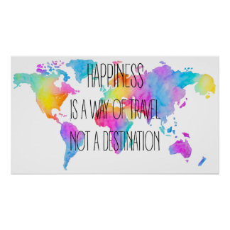 Colorful Happiness Poster