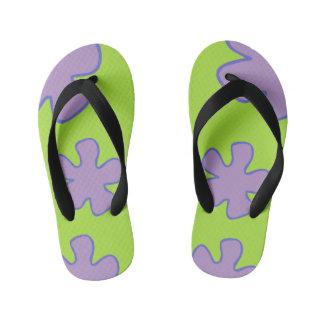Colorful Hawaiian Shoes Kid's Flip Flops