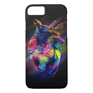 Colorful Heart iPhone 8/7 Case