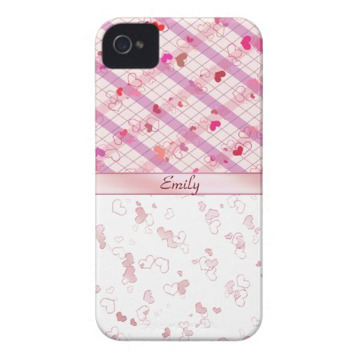 Colorful hearts blackberry bold cover