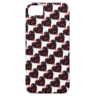 Colorful hearts love case iPhone 5 cover