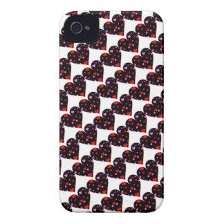 Colorful hearts love case Case-Mate iPhone 4 case