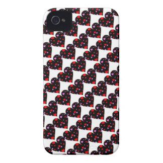 Colorful hearts love case iPhone 4 Case-Mate case