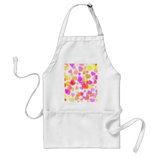 Colorful Hearts Standard Apron