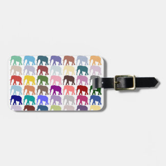 Colorful Herd Luggage Tag