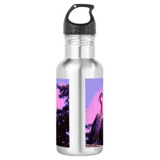 Colorful Heron 532 Ml Water Bottle