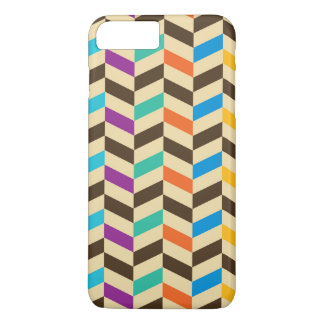 Colorful Herringbone Geometric Modern Pattern iPhone 7 Plus Case