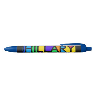 Colorful Hillary Clinton 2016 pens