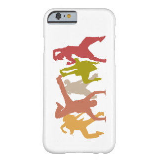 Colorful Hip Hop Dancers Barely There iPhone 6 Case