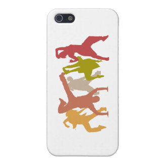 Colorful Hip Hop Dancers Case For The iPhone 5