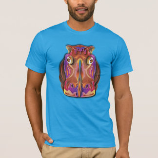 Colorful Hippo T-Shirt