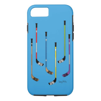 Colorful Hockey Sticks iPhone 8/7 Case
