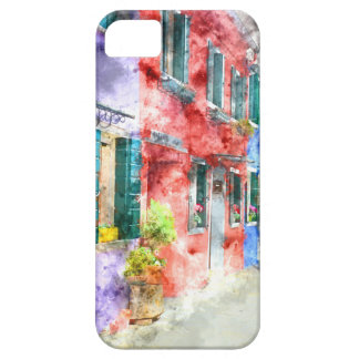 Colorful Homes in Burano Italy near Venice iPhone 5 Case