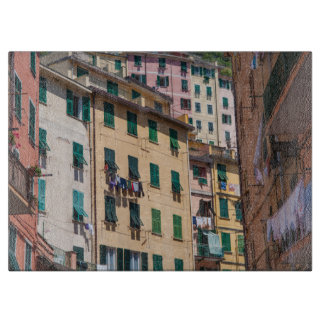 Colorful Homes in Cinque Terre Italy Cutting Board