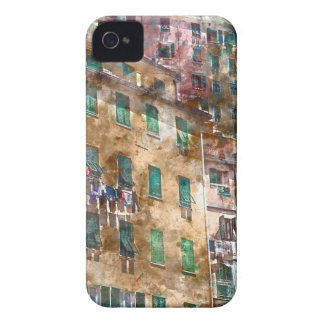 Colorful Homes in Cinque Terre Italy iPhone 4 Covers