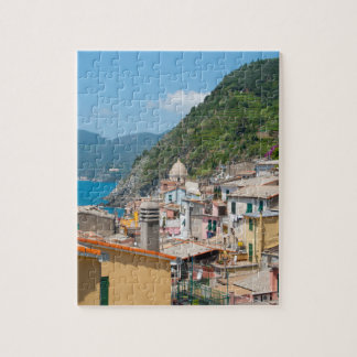 Colorful Homes in Cinque Terre Italy Jigsaw Puzzle