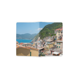 Colorful Homes in Cinque Terre Italy Passport Holder