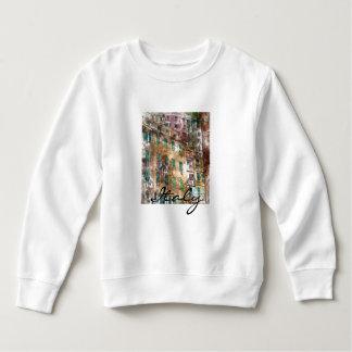 Colorful Homes in Cinque Terre Italy Sweatshirt